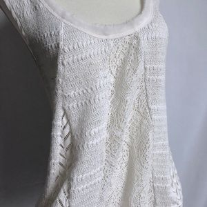 Anthropologie Tops - Crochet Swing Top